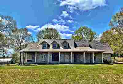 Hinds County Single Family Home For Sale: 4525 Tank Rd