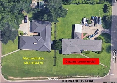 Rankin County Commercial For Sale: 2301 Old Brandon Rd