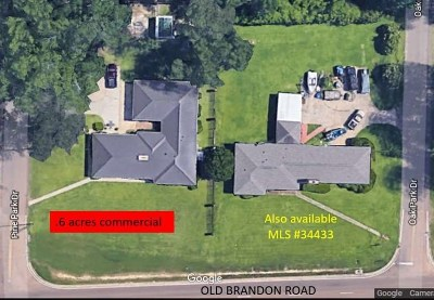 Pearl Single Family Home For Sale: 2305 Old Brandon Rd