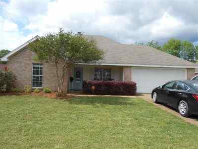 Byram Single Family Home Contingent/Pending: 2272 Meagan Dr