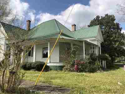 Mendenhall Single Family Home For Sale: 173 E Maude Ave