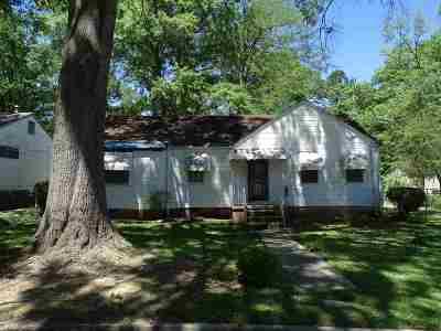 Jackson Single Family Home For Sale: 2612 Latimer Ave