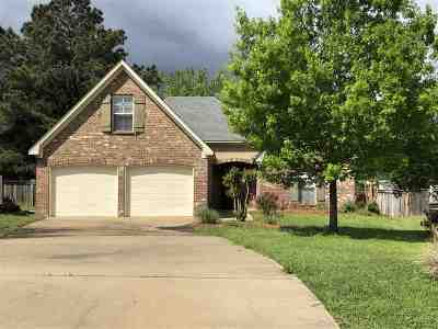 Canton MS Single Family Home For Sale: $204,500