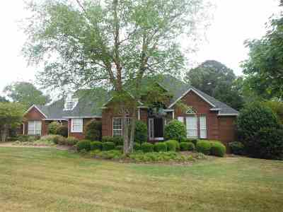 Neshoba County Single Family Home Contingent/Pending: 10090 St. Francis