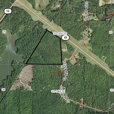 Attala County Residential Lots & Land For Sale: Highway 43 Hwy