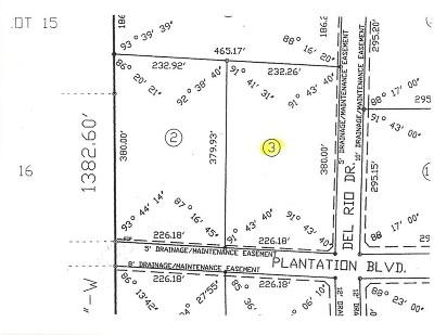 Brandon Residential Lots & Land For Sale: 169 Plantation Blvd
