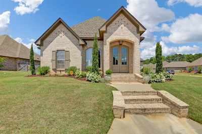 Flowood Single Family Home Contingent/Pending: 800 Harvest Xing