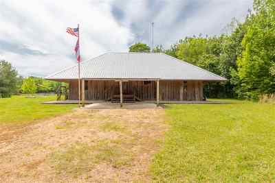 Single Family Home For Sale: 6550 Attala County Rd 4002