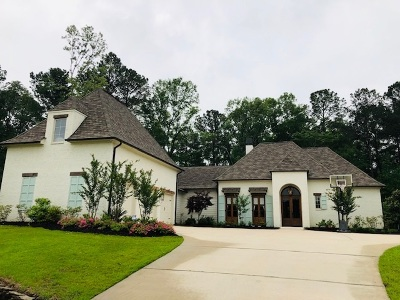 Madison Single Family Home For Sale: 307 Sugar Moss Ridge
