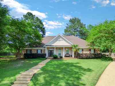 Rankin County Single Family Home For Sale: 604 Leeward Cv
