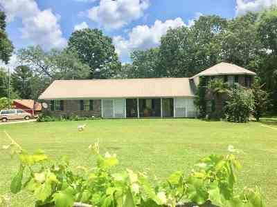 Carthage MS Single Family Home For Sale: $220,000
