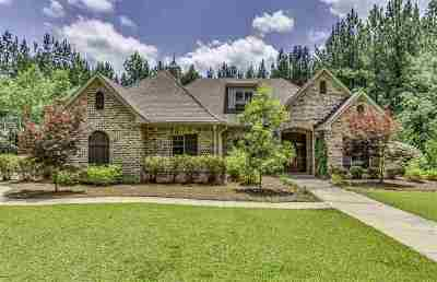 Rankin County Single Family Home Contingent/Pending: 160 Longhorn Dr