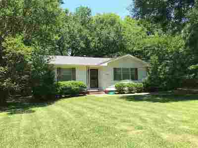 Hinds County Rental For Rent: 1516 Wilhurst St