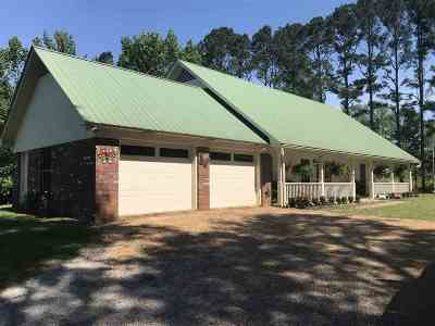Neshoba County Single Family Home Contingent/Pending: 11401 County Road 101