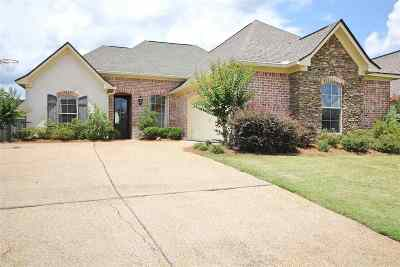 Rankin County Single Family Home Contingent/Pending: 208 Emerald Cr