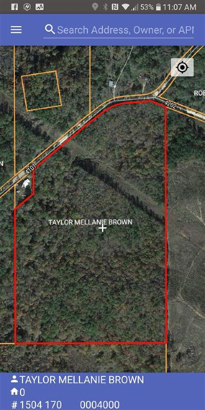 Residential Lots & Land For Sale: Attala County Rd 4101