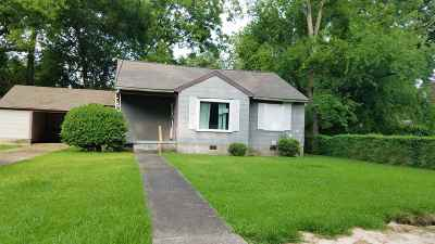 Jackson Single Family Home For Sale: 4422 Desoto St