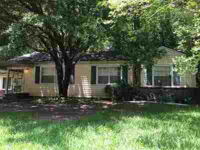 Jackson Single Family Home For Sale: 714 Cedarhurst Dr