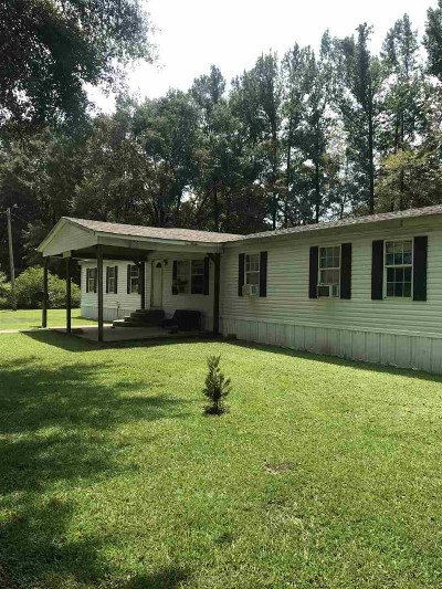 Hinds County Mobile/Manufactured For Sale: 1200 Katie Cliff Dr