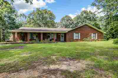 Mendenhall Single Family Home For Sale: 126 Poplar Springs Rd
