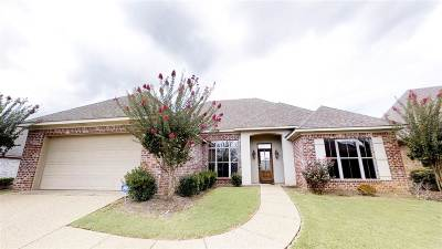 Flowood Single Family Home For Sale: 161 Tradition Pkwy
