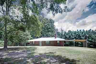 Carthage Single Family Home For Sale: 2518 Freeny Rd