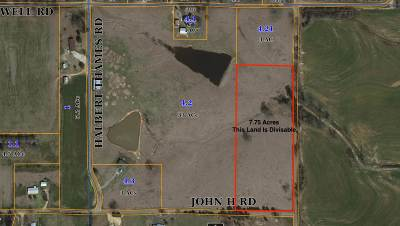 Residential Lots & Land For Sale: Overby Dr