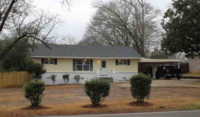 Ridgeland Single Family Home For Sale: 461 S Wheatley St