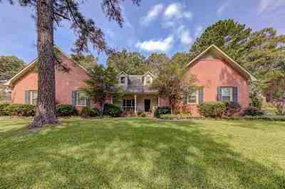 Hinds County Single Family Home For Sale: 117 Countrywood Cir