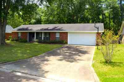 Hinds County Single Family Home For Sale: 665 Cedar Springs Dr
