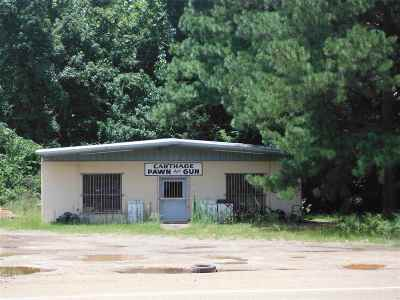 Leake County Commercial For Sale: 708 N Highway 35