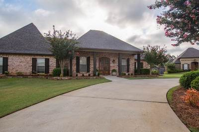 Hinds County, Madison County, Rankin County Single Family Home For Sale: 100 Charlton Cove Cir