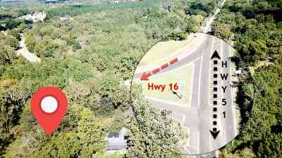 Canton Residential Lots & Land For Sale: 3591 Highway 51