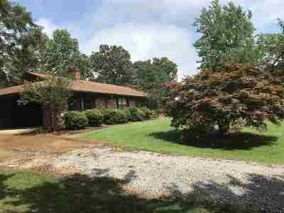 Carthage MS Single Family Home For Sale: $136,000