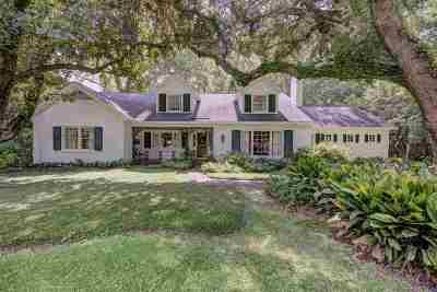 Jackson Single Family Home For Sale: 3820 Hawthorne Dr