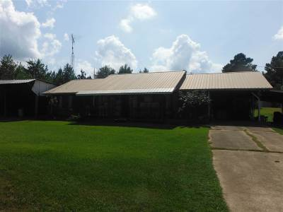 Walnut Grove MS Single Family Home For Sale: $120,000