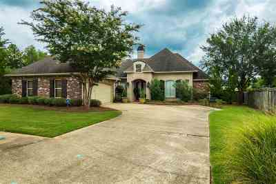Flowood Single Family Home Contingent/Pending: 120 Belle Meade Blvd