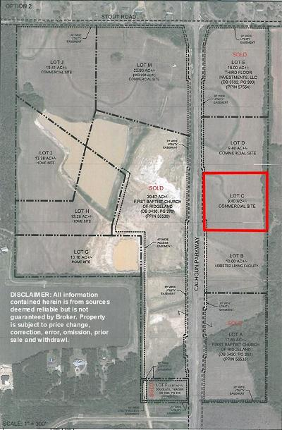 Canton Residential Lots & Land For Sale: 03 Calhoun Pkwy