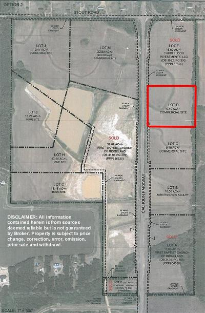Canton Residential Lots & Land For Sale: 04 Calhoun Pkwy