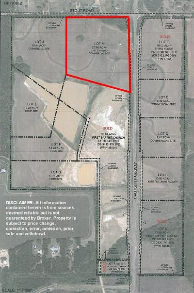 Canton Residential Lots & Land For Sale: 01 Calhoun Pkwy