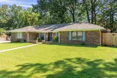 Hinds County Single Family Home For Sale: 1222 Huntcliff Way