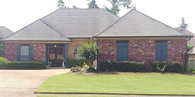 Rankin County Single Family Home For Sale: 122 Turtle Ridge Dr