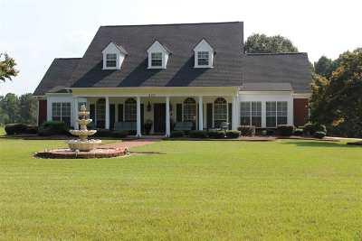 Mendenhall Single Family Home For Sale: 207 Cordis Rankin Rd
