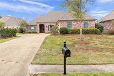 Rankin County Single Family Home Contingent/Pending: 102 Asbury Pt