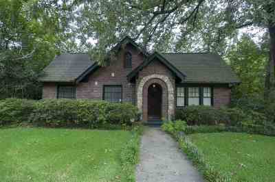 Hinds County Single Family Home For Sale: 1113 Poplar Blvd