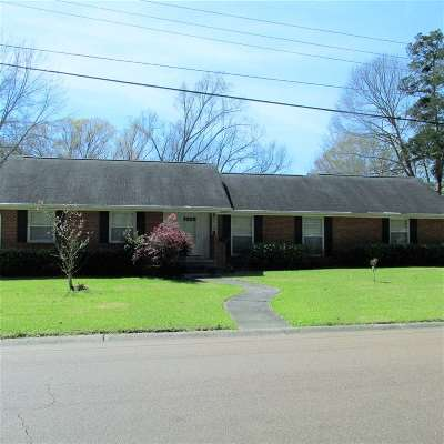 Natchez Single Family Home For Sale: 12 Oakhurst Drive