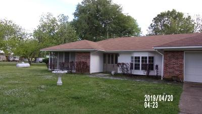 Concordia Parish Single Family Home For Sale: 1655 Hwy 569