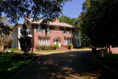 Natchez Single Family Home For Sale: 1164 Lower Woodville Roa
