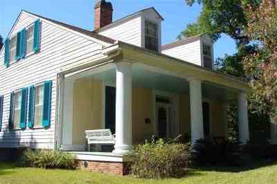 Natchez Single Family Home For Sale: 70 Glen Aubin Plantation Rd.