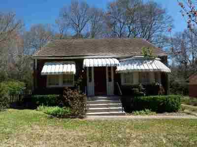 Natchez Single Family Home For Sale: 109 Auburn Avenue
